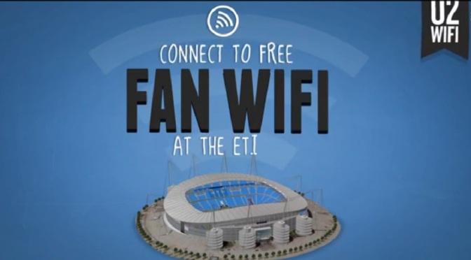 Manchester City prvi nogometni klub koji je omogućio wifi za sve navijače na stadionu!