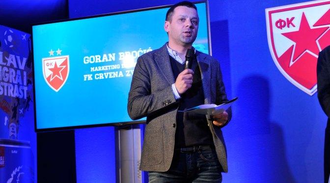 Goran Broćić otkriva detalje marketinga Crvene Zvezde!
