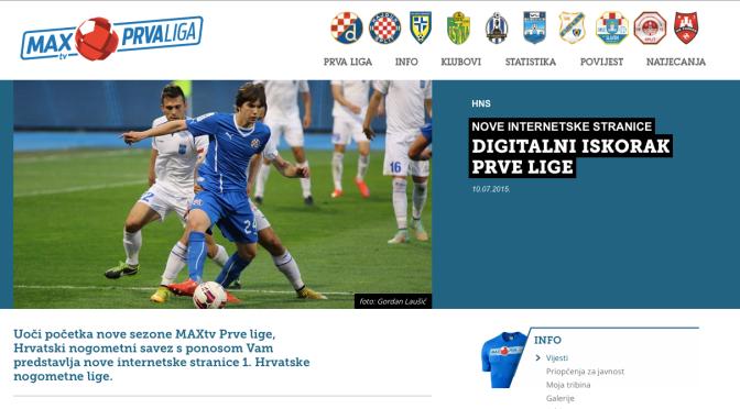 Digitalna (r)evolucija naše prve nogometne lige!